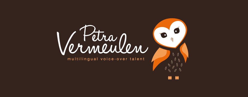 Petra Vermeulen Multilingual Voice Over Talent Brand Logo